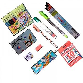 Genius Stationery set 10 Items for kids