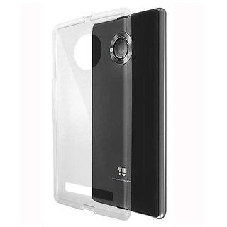 new style c88ed 93f8f Evoque Transparent Back Cover For Yu 6000 YUREKA NOTE