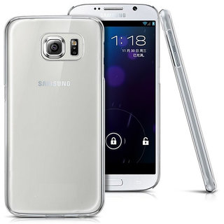 Evoque Transparent Back Cover For Samsung Galaxy S6