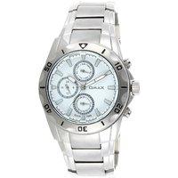 Omax Stainless Steel Men Multifunction Watch