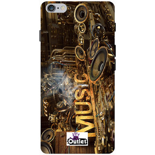 HI5OUTLET Premium Quality Printed Back Case Cover For Apple iPhone 5/5S/5G Design 121