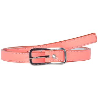 Snoby Causal Pink  Synthetic Belt (SBY10085)