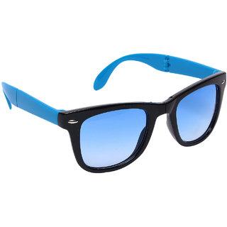 Blue-Tuff Unisex Folding wayfarer Sunglass -FOLDING-WAYFARER-BLUE