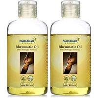 Healthbuddy Herbal Rheumatic Oil, 2 Packs of 200ml Each