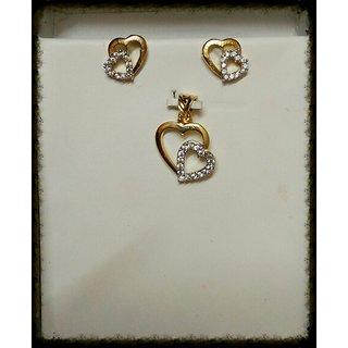 Pristyn love  pendant set