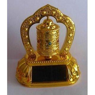 Astrology Goods Buddhist Om Mani Prayer Wheel (solar) Prayer Wheel