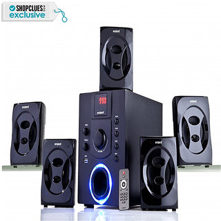 Envent DeeJay 701 BT - 5.1 Bluetooth Home Audio Speaker with 30W RMS