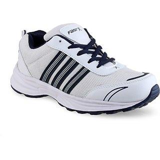FASTX Black  White Running Shoes