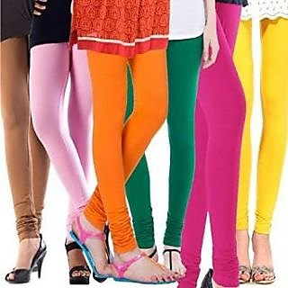 Lovely Look Leggins Multi Color Cotton Leggings