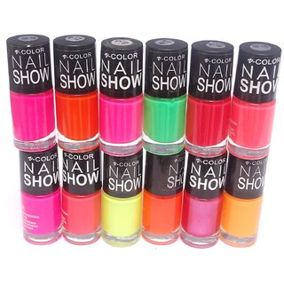 V-Color Nail Show Polish Set of 12 Pcs For Womens