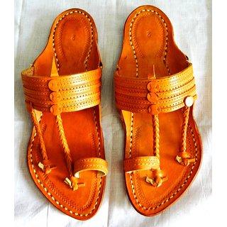 leather kolhapuri