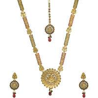 EY-508, goddess laxmi  necklace by the pari