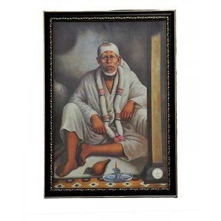 Photo Frame A3 Size (18x12 inch) - Sai Baba