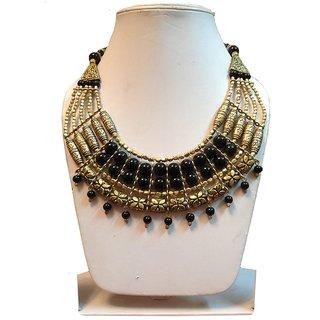 Zayna Golden Red Multilayered Necklace