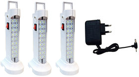 Sahi 10w (578 Rechargeable Emergency light set of-3 with charger
