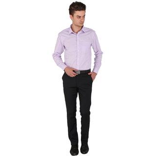 Flags Regular Fit Formal Shirt Lavender Colour