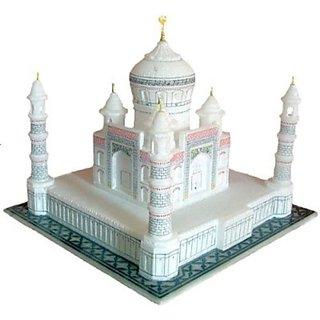 Radhey Taj Mahal Gifterd In Fine Rate Showpiece - 30 cm