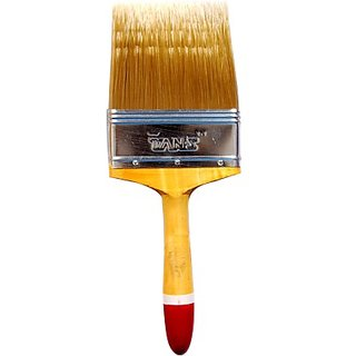 Tans Brush 4 AG Gold Synthetic Wall Paint Brush