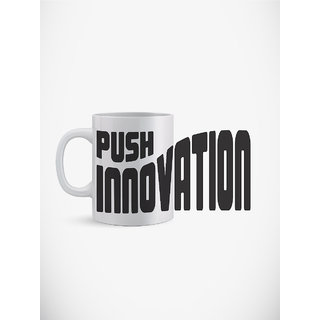 Utpatang Push Inovation Motivational Mug