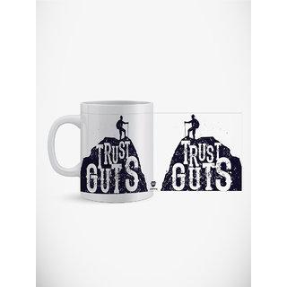 Utpatang Trust Guts Motivational Mug