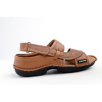 Red Chief MenS Tan Casual Velcro Sandals (RC0247 TAN)
