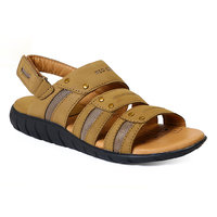 Red Chief MenS Tan Casual Velcro Sandals (RC631 CAMEL)