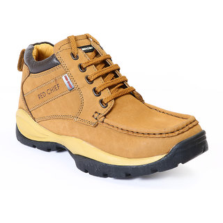 8208895af03a Buy Red Chief Rust Men Low Ankle Outdoor Casual Leather Shoes (RC2051 022)  Online - Get 20% Off