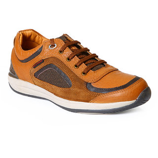 Red Chief Tan Men Outdoor Casual Leather Shoes (RC2090 107)