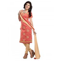 Aaina Pink Cambric cotton Printed Suits (SB-2903)