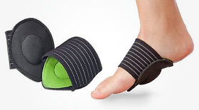 Cushion Arch Support for Flat Foot Helps Decrease Plantar Fasciitis Pain relief