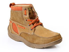 65d3214501d Red Chief Rust Men High Ankle Outdoor Casual Leather Shoes (RC3075 083)