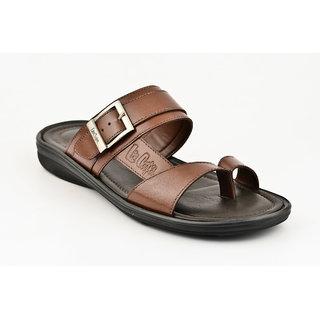 Lee Cooper Men's Tan Slip On Casual Shoes