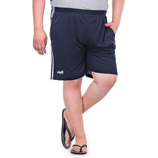 Pluss Blue Chino/Cotton Shorts For MenMBR326-NAVY