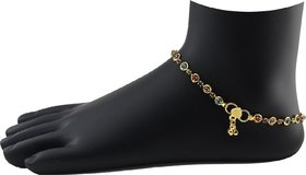 Precious Diamond Studded Anklet