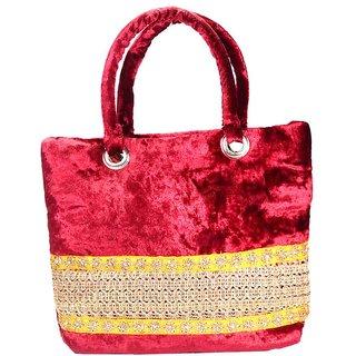 Pink Fever Shoulder Bag-Maroon