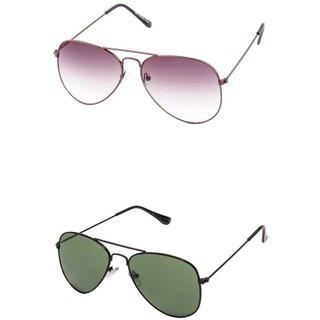 Closer Gray Aviator Sunglasses For Men  Women-Combo-In290-247
