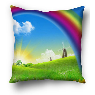 Beautiful Multi  Flower Background Cushion Cover