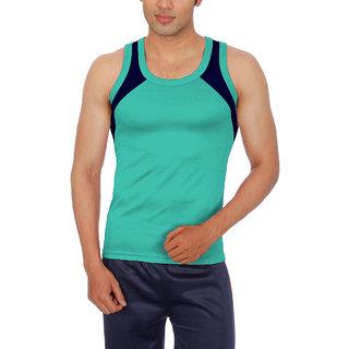 Sportee Mens Light Green  Vest