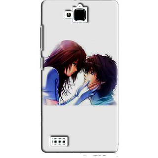 SaleDart Designer Mobile Back Cover for Huawei Honor 3C