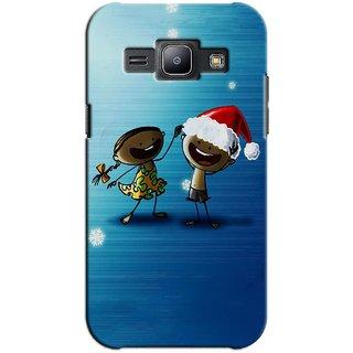 SaleDart Designer Mobile Back Cover for Samsung Galaxy J1