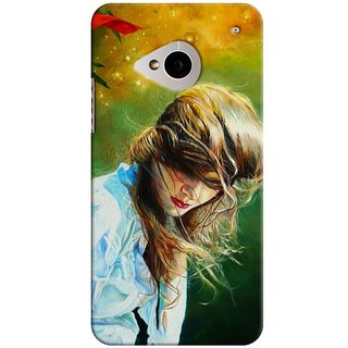 SaleDart Designer Mobile Back Cover for HTC One M7