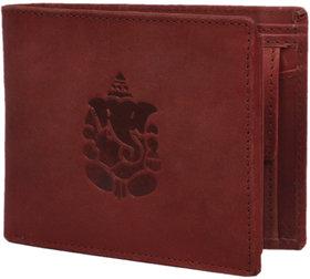 Hidelink Genuine Leather Tan Wallet-SWP115045