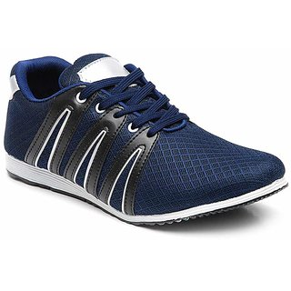 Docshu NavyBlue-Black Men/Boys Sports Shoe V-6023