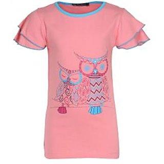 Owl Print T Shirt