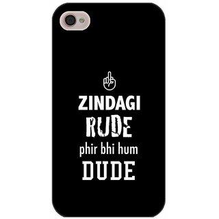 Zindagi Rude - Typography