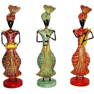 Buy Handicrafts Pcock Traditional Rajasthan Punjabi Musician Set