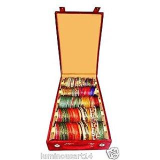 Atorakushon 5 roll rod wodden bangles box jewelery box