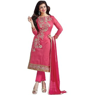 Womens Silk Dress Material (Unstitched)