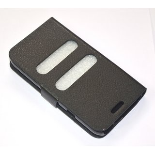 Gioiabazar Magnetic Case Cover For Samsung Galaxy Pocket S5300 Black