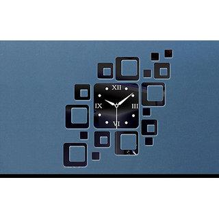 SQURE WALL CLOCK BY H.K. ART
